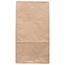 "JAM Paper® Kraft Lunch Bags, 6"" x 3 3/4"" x 11"", Brown Recycled, 25/PK Thumbnail 2"