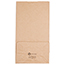 "JAM Paper® Kraft Lunch Bags, 6"" x 3 3/4"" x 11"", Brown Recycled, 25/PK Thumbnail 3"