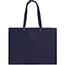 "JAM Paper Matte Horizontal Gift Bag, 17"" x 6"" x 13"", Navy Blue Recycled Thumbnail 2"