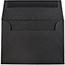 "JAM Paper 4Bar A1 Premium Invitation Envelopes, 3 5/8"" x 5 1/8"", Black Linen, 250/CT Thumbnail 2"