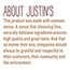Justin's® Chocolate Hazelnut & Almond Butter, 1.15 oz. Squeeze Packs, 10/Box Thumbnail 5