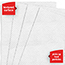 WypAll® Foodservice Extended Use Reusable Cloths (06053), Quarterfold, White Cloths, 1 Box, 200 Sheets Thumbnail 4