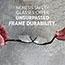 KleenGuard™ V60 Nemesis Rx Reader Safety Glasses, Black Frame, Clear Lens Thumbnail 2