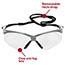 KleenGuard™ V30 Nemesis Safety Glasses, Clear Anti-Fog Lens with Silver Frame Thumbnail 3