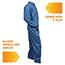 KleenGuard™ A20 Coveralls, MICROFORCE Barrier SMS Fabric, Denim, 2XL, 24/Carton Thumbnail 3