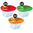 Pringles® Crisps Grab 'N Go Variety Pack, Cheddar Cheese/Original/Sour Cream & Onion, 48/BX Thumbnail 2