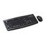 Kensington® Pro Fit Wireless Desktop Set, Keyboard and Mouse, USB Wireless Bluetooth, Black Thumbnail 2
