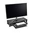 """Kensington® SmartFit Monitor Stand with Drawer - Up to 30"""" Screen Support - 33 lb Load Capacity - Desktop Thumbnail 2"""