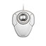 Kensington® Orbit Trackball with Scroll Ring - White - Optical - Cable - White - USB - Scroll Ring - 2 Button(s) - Symmetrical Thumbnail 5