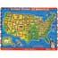"""Melissa & Doug® Sound Puzzle, USA, 11-1/2"""" x 15-1/2"""" Thumbnail 1"""