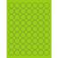 "Tape Logic® Circle Laser Labels, 1"", Fluorescent Green, 6300/CS Thumbnail 1"