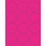 "Tape Logic® Circle Laser Labels, 2 1/2"", Fluorescent Pink, 1200/CS Thumbnail 1"