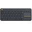 Logitech® Wireless Touch Keyboard K400 Plus, Black Thumbnail 5