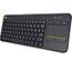 Logitech® Wireless Touch Keyboard K400 Plus, Black Thumbnail 3