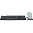 Logitech® K375s Multi-Device Wireless Keyboard and Stand Combo - Wireless Connectivity - Bluetooth/RF - USB Interface - Mac OS, Android, Windows, iOS, Chrome OS - Graphite, Off White Thumbnail 3