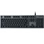 Logitech® K840 Mechanical Corded Keyboard - Cable Connectivity - USB Interface - Windows - Black, Gray Thumbnail 5