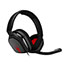 Logitech® Astro A10 Headset - Stereo - Mini-phone - Wired - 32 Ohm - 20 Hz - 20 kHz - Over-the-ear, Over-the-head - Binaural - Circumaural - Red, Gray Thumbnail 5