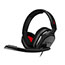 Logitech® Astro A10 Headset - Stereo - Mini-phone - Wired - 32 Ohm - 20 Hz - 20 kHz - Over-the-ear, Over-the-head - Binaural - Circumaural - Red, Gray Thumbnail 3