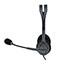 Logitech® H111 Binaural Over-the-Head, Stereo Headset, Black/Silver Thumbnail 5