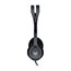 Logitech® H111 Binaural Over-the-Head, Stereo Headset, Black/Silver Thumbnail 4