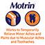 Motrin® IB Ibuprofen 200mg Tablets for Pain & Fever, 2/Pack, 50 Packs/BX Thumbnail 4