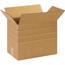"""W.B. Mason Co. Multi-Depth Corrugated boxes, 14 1/2"""" x 8 3/4"""" x 12"""", Kraft, 25/BD Thumbnail 1"""