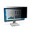 """3M™ Privacy Filter for 23.5"""" Widescreen Monitor - Black, Matte, Glossy Thumbnail 1"""