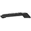 Manhattan Numeric Wireless Keypad, 18 Keys - USB - Black Thumbnail 2