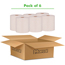 """Marcal PRO™ 100% Recycled Hardwound Paper Towel, Natural, 1-Ply, 7 7/8"""" x 800', 6 Rolls/CT Thumbnail 3"""