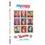mycopy™ Ultra-White Copy Paper, 98 Bright, 20 lb., 8 1/2 x 14, White, 500/RM Thumbnail 1