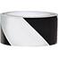 """NMC™ Vinyl Safety Tape, Hazard Stripe, Black/White, 3"""" x 54' Thumbnail 1"""