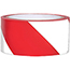 "NMC™ Vinyl Safety Tape, Hazard Stripe, Red/White, 3"" x 108' Thumbnail 1"