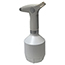 W.B. Mason Co. Rechargeable Handheld Sprayer and Mister, 1L, White Thumbnail 2