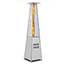 W.B. Mason Co. Pyramid Glass Tube Patio Heater, Propane, 48,000 BTU - Steel Thumbnail 1