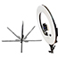 W.B. Mason Co. LED 18'' Ring Light Kit with Stand and Carrying Case Thumbnail 4
