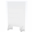 """J.M.C Furniture Counter Top Acrylic Shield, Clear, 24"""" x 36"""", 10""""W x 4""""H Opening Thumbnail 1"""
