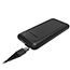 Otterbox USB A-C + Qi Wireless Power Pack - For Smartphone, Tablet PC, Qi-enabled Device, Outdoor, Office, Government, Education, Healthcare - Lithium Ion (Li-Ion) - 10000 mAh - 3 A - 5 V DC, 9 V DC, 12 V DC Output - 5 V DC Input - 2 x - Stone Shadow Thumbnail 4