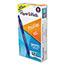 Paper Mate® Profile Retractable Gel Pen, Fine 0.5 mm, Blue Ink, Translucent Blue Barrel, Dozen Thumbnail 1