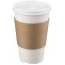 Pactiv Hot Cup Sleeve, 1000/CT Thumbnail 1