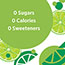 Poland Spring® Sparkling Natural Spring Water, Lime, 16.9 oz, 24/CS Thumbnail 4