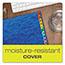 Pendaflex® PressGuard Expanding Desk File, A-Z, Letter Size, Acrylic-Coated, Blue Thumbnail 7
