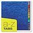 Pendaflex® PressGuard Expanding Desk File, A-Z, Letter Size, Acrylic-Coated, Blue Thumbnail 5
