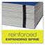 Pendaflex® PressGuard Expanding Desk File, A-Z, Letter Size, Acrylic-Coated, Blue Thumbnail 3
