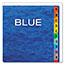 Pendaflex® PressGuard Expanding Desk File, A-Z, Letter Size, Acrylic-Coated, Blue Thumbnail 2