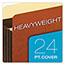 "Pendaflex® Heavy-Duty File Pockets, 7"" Expansion, 1 Pocket, Legal, Redrope Thumbnail 5"