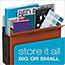 "Pendaflex® Heavy-Duty File Pockets, 7"" Expansion, 1 Pocket, Legal, Redrope Thumbnail 2"
