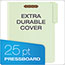 "Pendaflex® Pressboard Folders, 2 Fasteners, 1"" Expansion, 1/3 Cut, Letter, Green, 25/Box Thumbnail 6"
