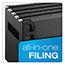 Pendaflex® DecoFlex Letter Size Desktop Hanging File, Plastic, 12 1/4 x 6 x 9 1/2, Black Thumbnail 7