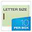 Pendaflex® Pressboard End Tab Classification Folders, Letter, 2 Dividers/6 Section, 10/Box Thumbnail 2
