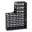Pendaflex® DecoFile Plastic Magazine File, 3 x 9 1/2 x 12 1/2, Black Thumbnail 2